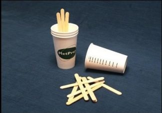 Mixing cups - stirring sticks