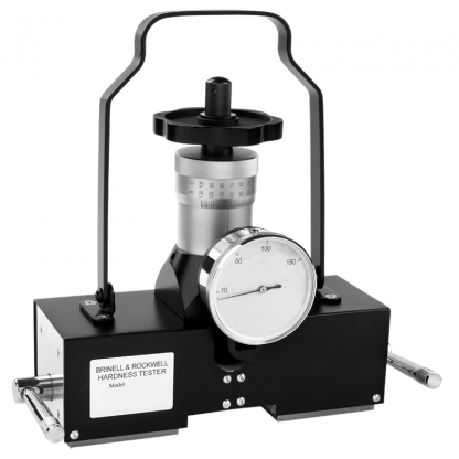 PHR-100 Portable Rockwell hardness tester with magnetic base and analogue gauge