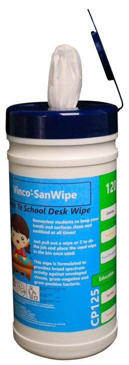 Sanitising Wipes 120